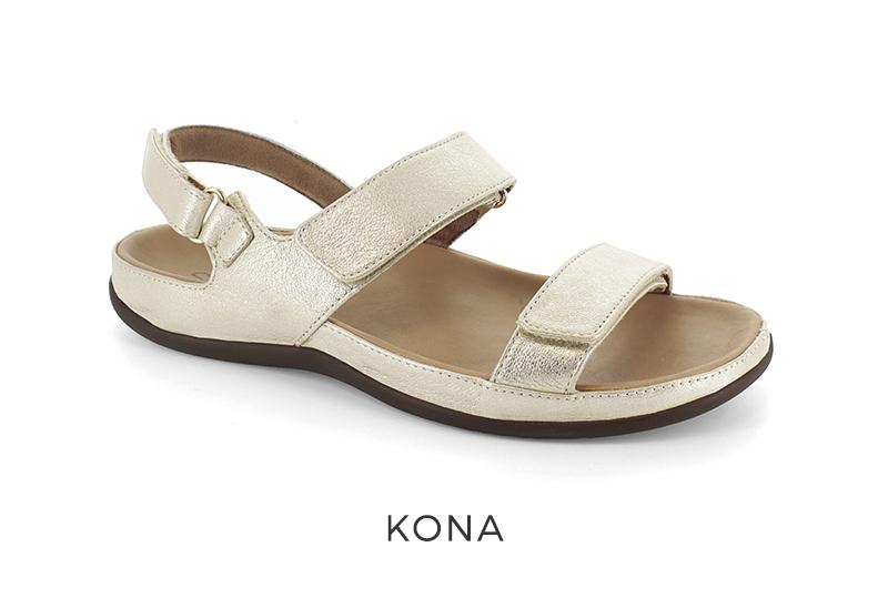 Strive Kona women's orthotic sandals