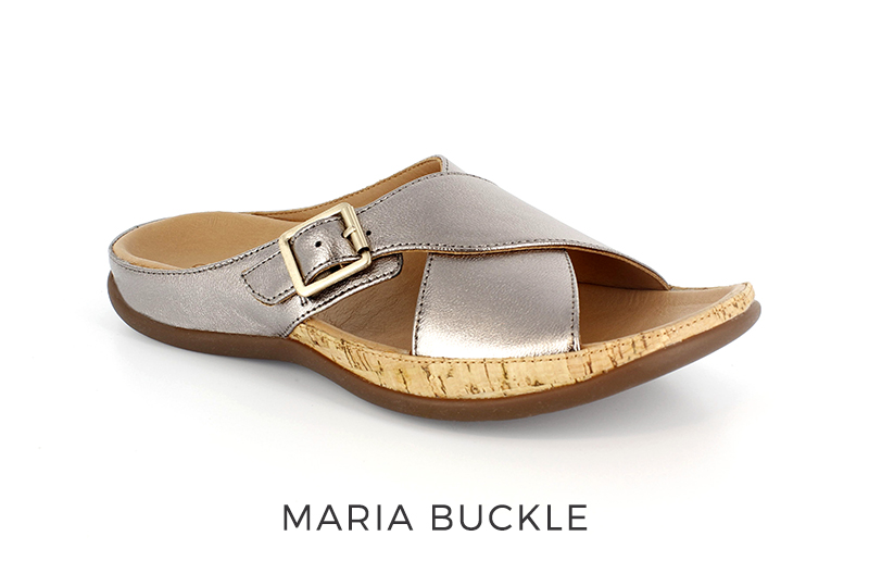 Strive Maria Buckle women's orthotic sandals