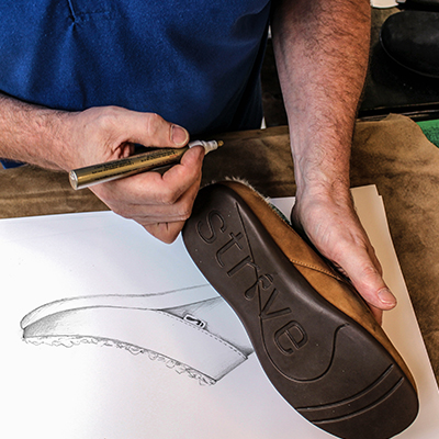 All Strive footwear are hand-crafted by experienced footwear technicians