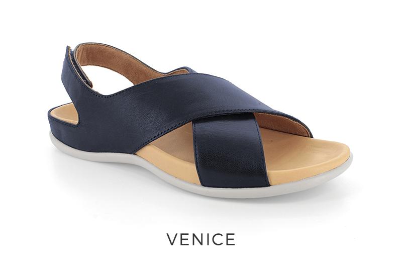Venice orthotic sandals for plantar fasciitis
