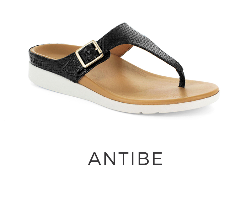 Antibe orthotic sandals for women