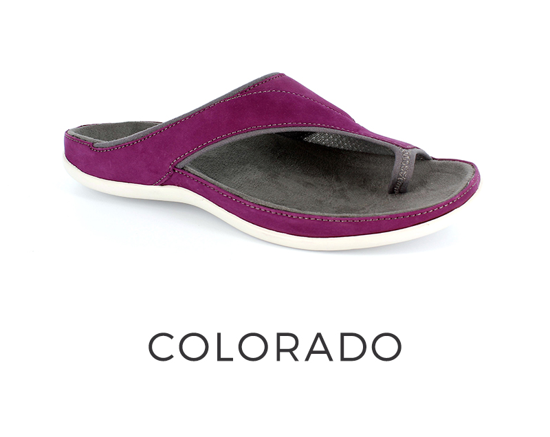 Colorado orthotic sandals for women