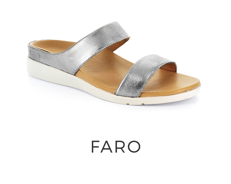 Faro orthotic sandals for women