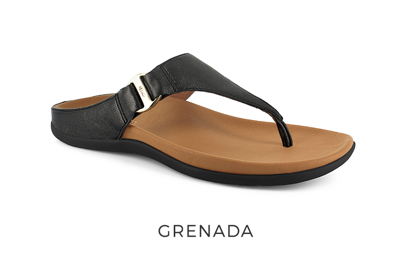 Strive Women's Orthotic Sandals with arch support Grenada
