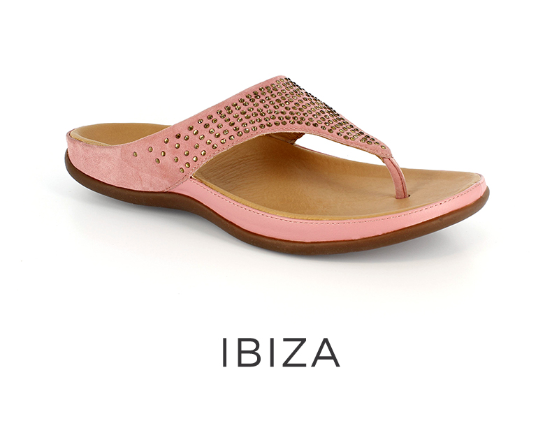 Ibiza orthotic womens sandals