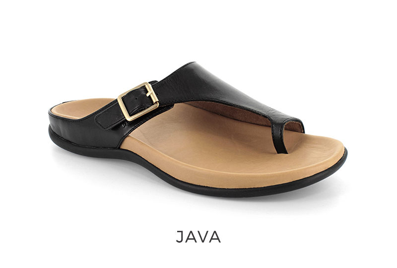 Strive Java women's orthotic sandals