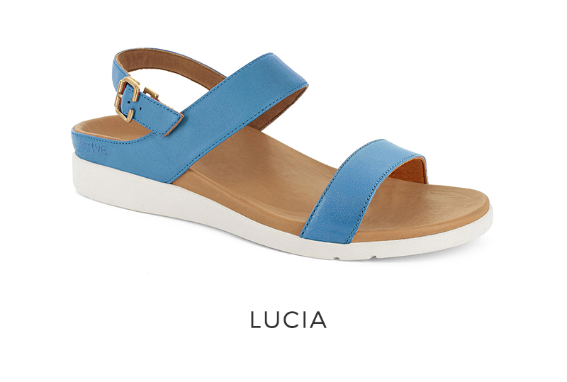 Strive Women's Orthotic Sandals with arch support Lucia