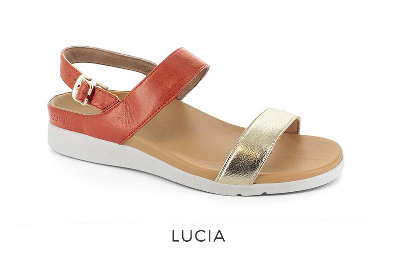 Lucia orthotic sandals