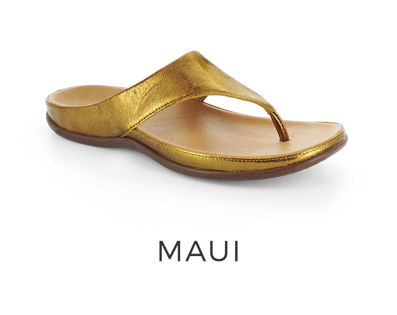 Maui orthotic women's sandals