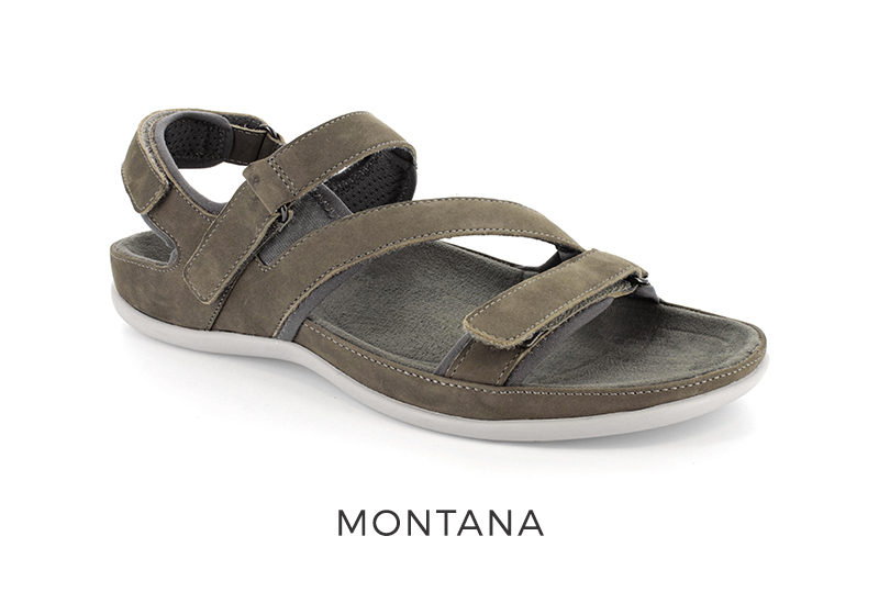 Strive Montana women's orthotic sandals