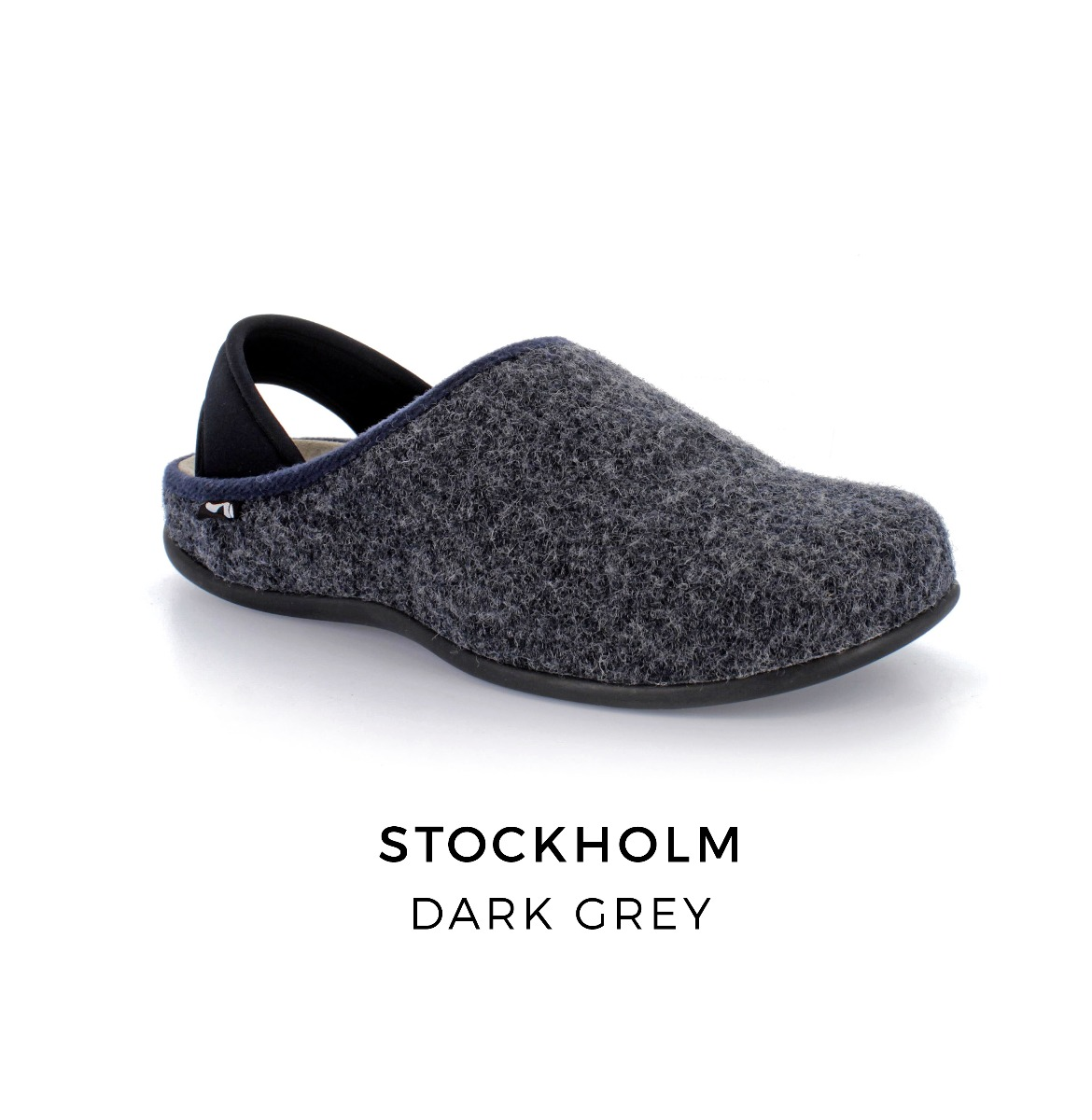 Stockholm orthotic slippers with arch support