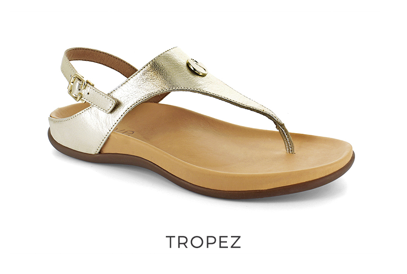 Tropez orthotic sandals