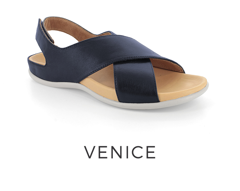 Venice orthotic sandals for women