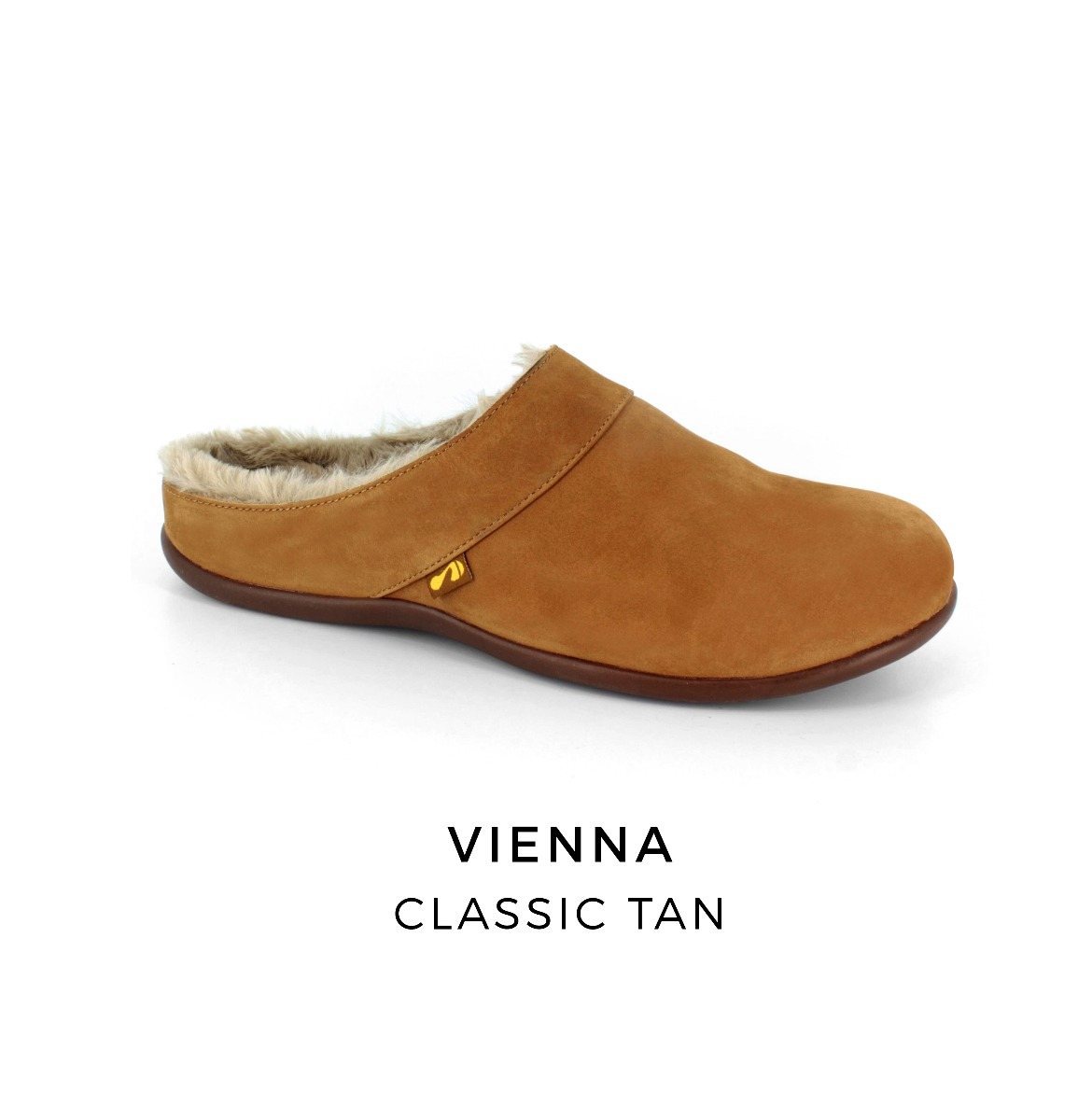 Vienna orthotic slippers with arch support