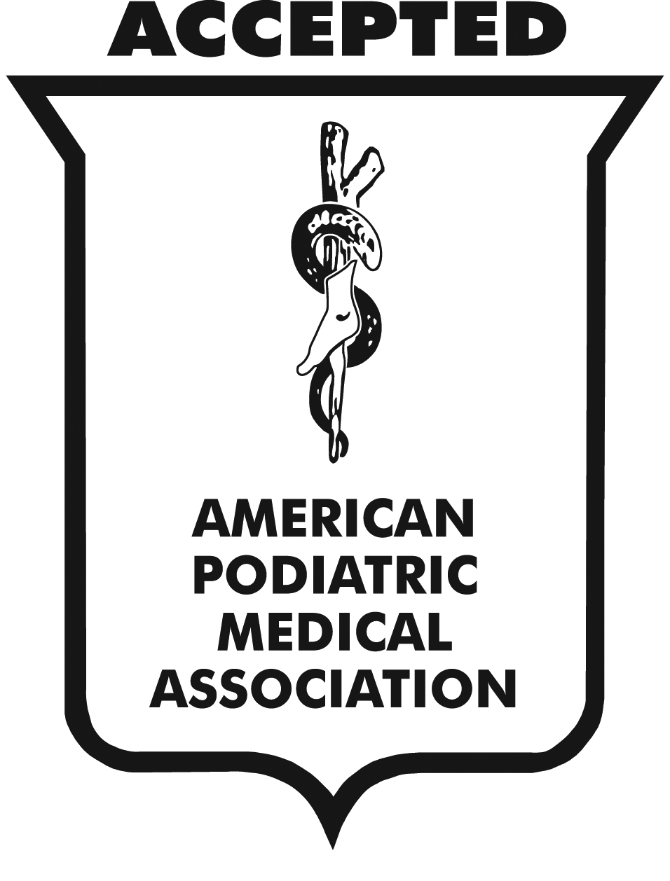 The American Podiatric Medical Association Seal of Acceptence